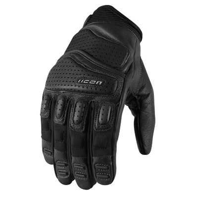 Icon Super Duty 2 Motorcycle Gloves XX-Large Black