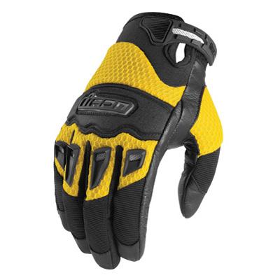 Twenty-Niner Motorcycle Gloves Yellow