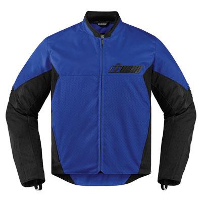Icon Konflict Jacket Large Blue