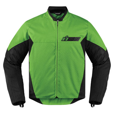 Icon Konflict Jacket Small Green