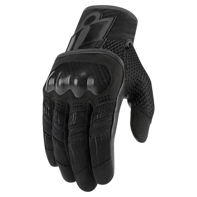Icon Overlord Gloves Small Black