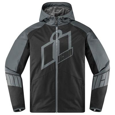 Icon Merc Crusader Jacket Large Grey