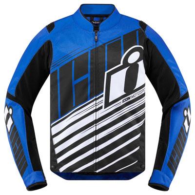Icon Overlord SB2 Jacket X-Large Blue