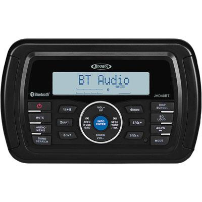Jensen JHD40BT Bluetooth Radio