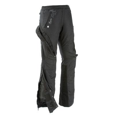 Joe Rocket Women's Alter Ego Textile Pant Small Black