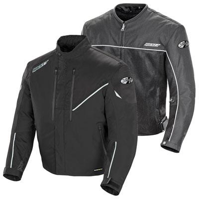 Joe Rocket Alter Ego 4.1 Textile Mesh Jacket Medium - Tall Black/Black