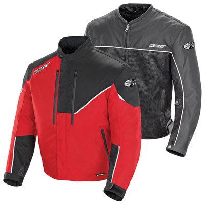 Joe Rocket Alter Ego 4.1 Textile Mesh Jacket X-Large Red/Black
