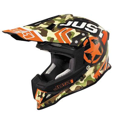 Just 1 J12 Kombat Carbon Helmet X-Small Orange
