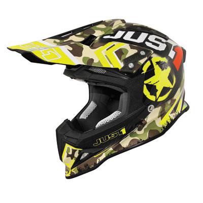 Just 1 J12 Kombat Carbon Helmet Small Yellow