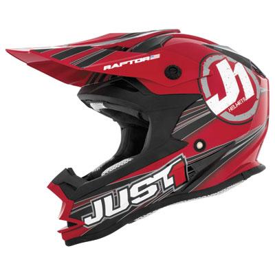 Just 1 J32 Helmet Large Raptor Red