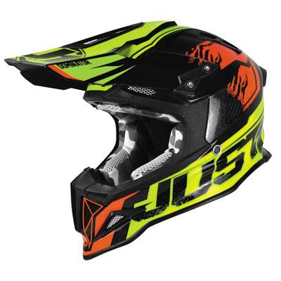 Just 1 J12 Dominator Helmet Large Neon Lime