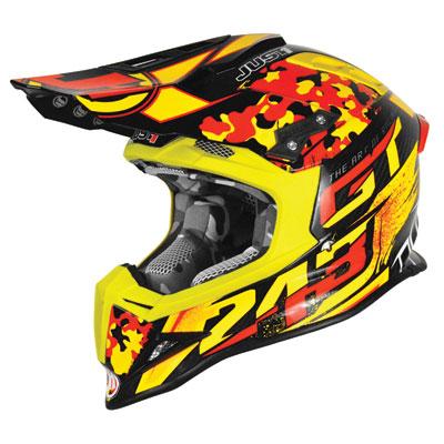 Just 1 J12 Tim Gajser Replica Helmet Large Red/Yellow