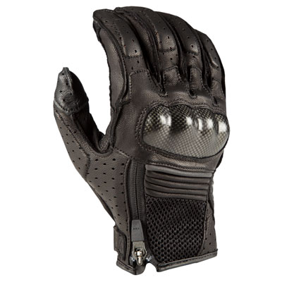 Klim Induction Short Gloves Small Black
