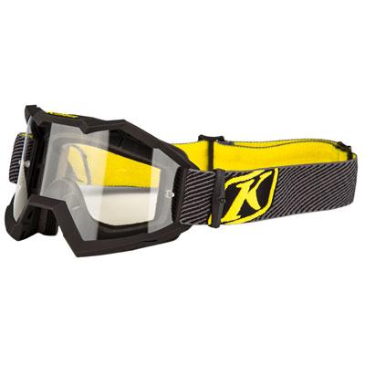 Klim Viper Off-Road Goggle  Fade Black Frame/Clear Lens