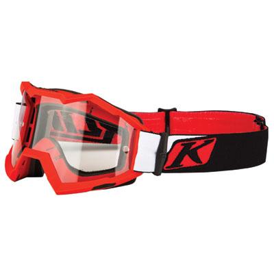 Klim Viper Off-Road Goggle  Venom Red Frame/Clear Lens