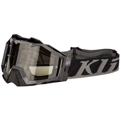 Klim Viper Pro Off-Road Goggle  Flatline Grey Frame/Smoke Lens