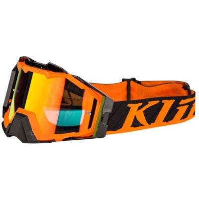Klim Viper Pro Off-Road Goggle  Flatline Orange Frame/Smoke Red Lens