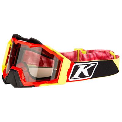 Klim Viper Pro Off-Road Goggle  Stripe Red Frame/Smoke Lens