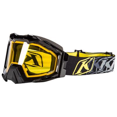 Klim Viper Pro Snow Goggle  K Corp Black Frame/Yellow Tint Lens