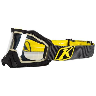 Klim Viper Snow Goggle  Fade Black Frame/Clear Lens