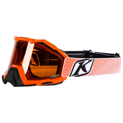 Klim Viper Snow Goggle  Fade Orange Frame/Orange Tint Lens