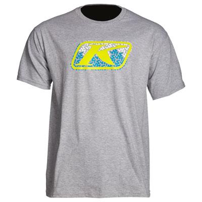 Klim Razor Graphic T-Shirt Medium Light Grey