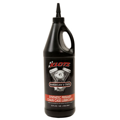 Klotz American V-Twin Synthetic Primary Chain Case Lubricant 1 Quart
