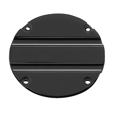Kuryakyn Hypercharger Air Cleaner Replacement Trap Door  Black - Blood Groove