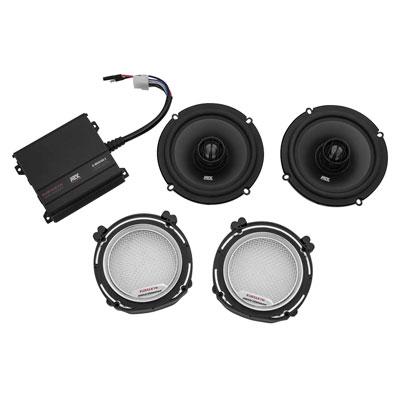Kuryakyn Road Thunder® Speaker Kit Chrome