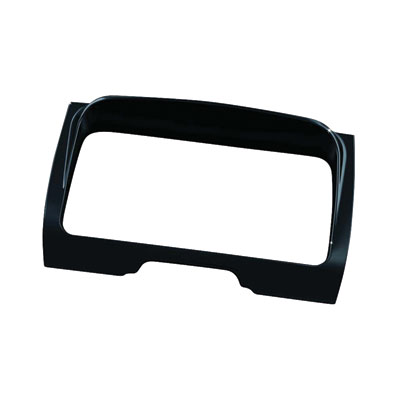 Kuryakyn Tri-Line Stereo Trim  Gloss Black