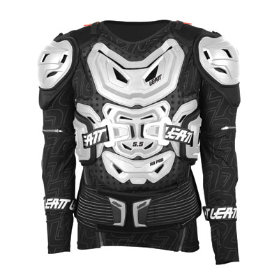 Leatt 5.5 Body Protector Large/X-Large White