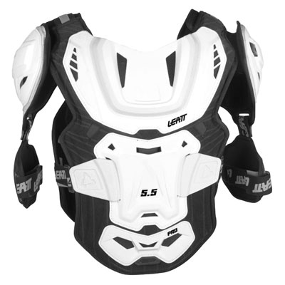 Leatt 5.5 Pro Roost Deflector Adult White