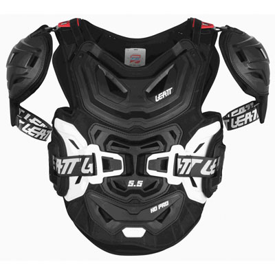 Leatt 5.5 Pro HD Roost Deflector Adult Black