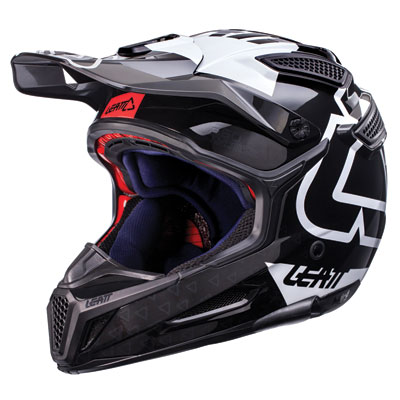 Leatt GPX 5.5 V15 Helmet X-Small Black/White