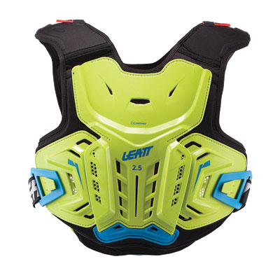 Leatt 2.5 Junior Roost Deflector Large/X-Large Lime/Blue