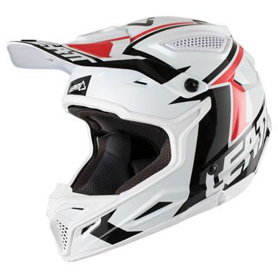Leatt GPX 4.5 V20 Helmet Large White/Black