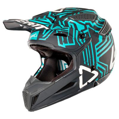 Leatt GPX 5.5 V11 Helmet Large Grey/Teal