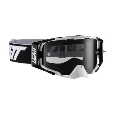 Leatt Velocity 6.5 Goggle  Black White Frame/Smoke Lens