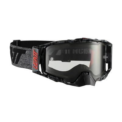 Leatt Velocity 6.5 Goggle  Brushed Grey Frame/Light Grey Lens
