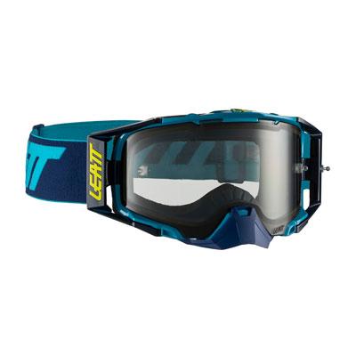 Leatt Velocity 6.5 Goggle  Ink Blue Frame/Light Grey Lens