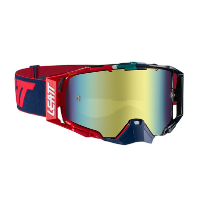 Leatt Velocity 6.5 Goggle  Ink Red Frame/Bronze Iriz Lens