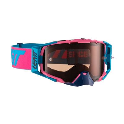 Leatt Velocity 6.5 Goggle  Pink Cyan Frame/Rose Lens