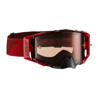 Leatt Velocity 6.5 Goggle  Ruby Red Frame/Rose Lens