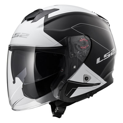 LS2 Infinity Beyond Helmet XXX-Large Black/White