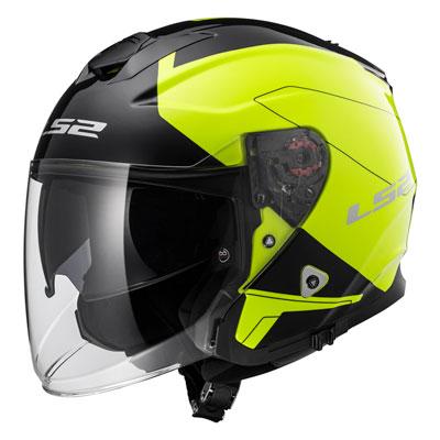 LS2 Infinity Beyond Helmet Large Hi-Vis/Black