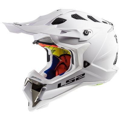 LS2 Subverter MX470 Helmet XX-Large White