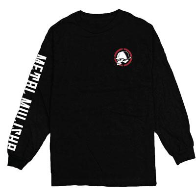 Metal Mulisha Reincarnate Long Sleeve T-Shirt Medium Black