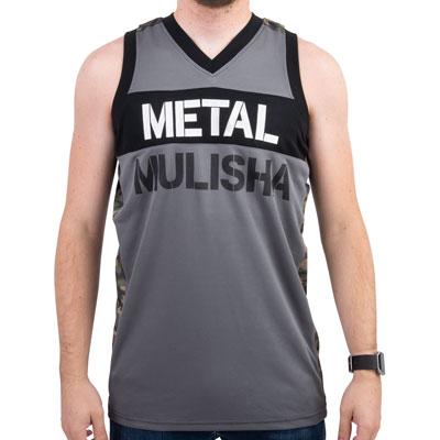 Metal Mulisha Block Jersey Tank Medium Black