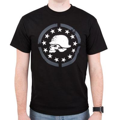Metal Mulisha Rebellion T-Shirt Medium Black