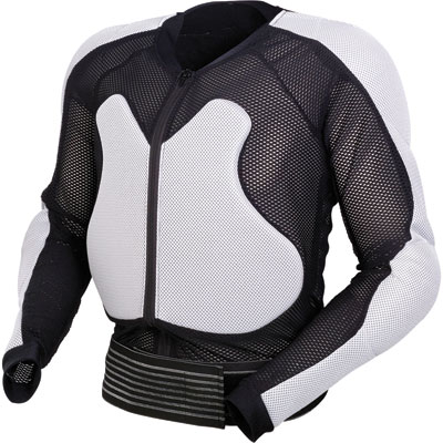 Moose Racing Expedition Body Armor Small/Medium White/Black